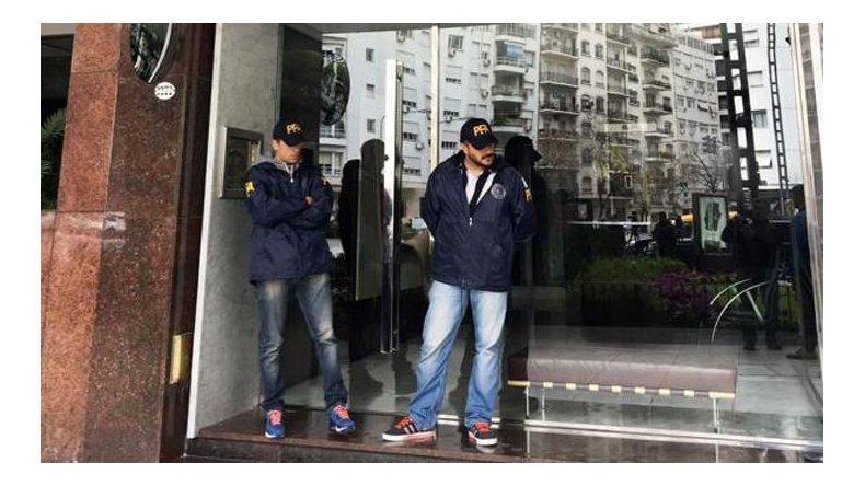 El departamento que De Vido tiene en el barrio de Palermo fue uno de los objetivos de los allanamientos.
