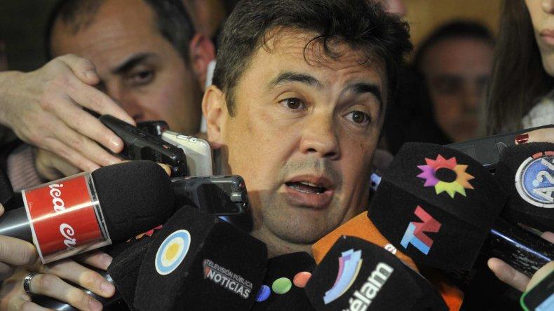 Marijuan habla con la prensa acerca de las posibles detenciones de los hijos de Lázaro Báez.