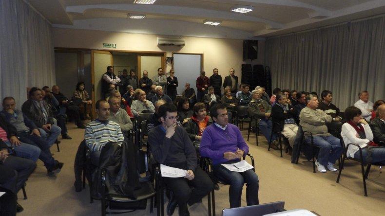 Los delegados de la cooperativa analizaron los números de la entidad del último trimestre.