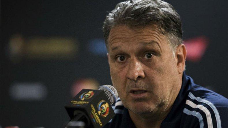 Gerardo Martino irá esta noche por su primer título como entrenador de la selección argentina.