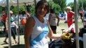 Irma Pérez, con 68 años sigue sumando logros en lanzamiento.