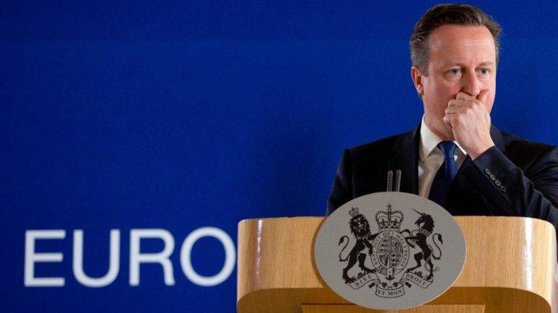 La renuncia del premier británico David Cameron fue la primera consecuencia del resultado del referendo.