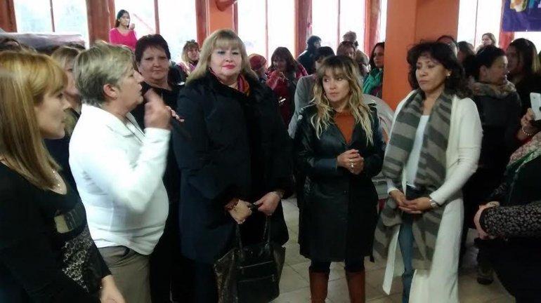 Participaron del plenario como principales referentes Nancy González