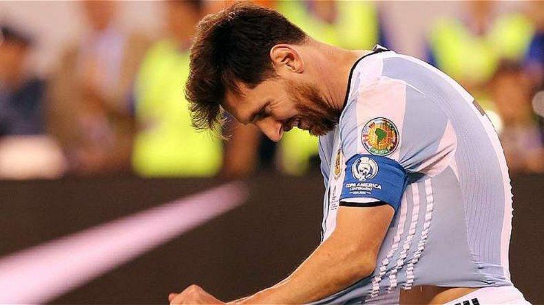 Así anunció Messi su renuncia: se terminó para mí la Selección