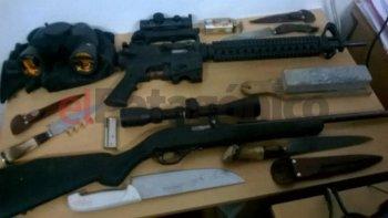 siete de cada 10 familias tiene armas de fuego en su casa