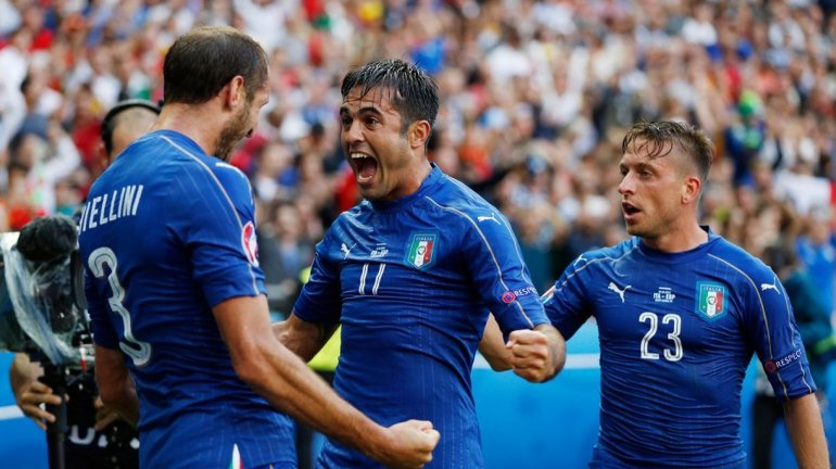 Italia venció a España y lo eliminó en octavos