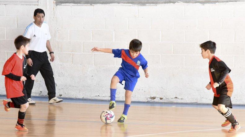 En la CAI se disputó una nueva jornada de la Copa Alexis Cabrera de fútbol de salón infantil.