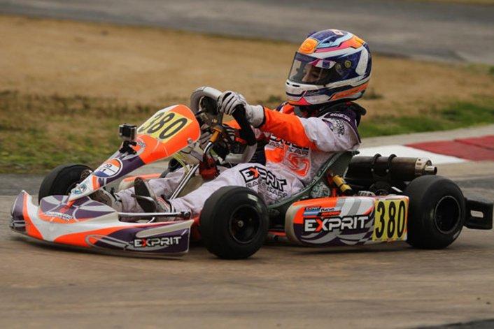 Ignacio Montenegro tuvo un positivo fin de semana a nivel nacional y está tercero en el campeonato.