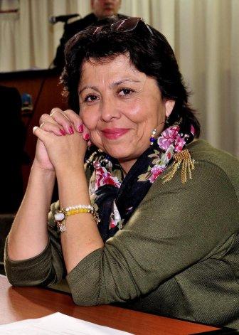 La diputada provincial del FpV Viviana Navarro.