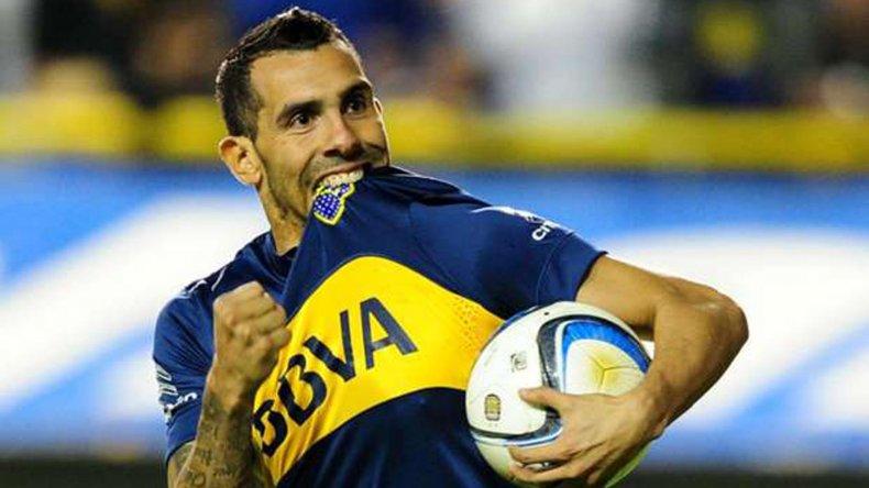 Carlos Tevez estará en el ataque xeneize esta noche cuando Boca se mida con Güemes de Santiago del Estero.