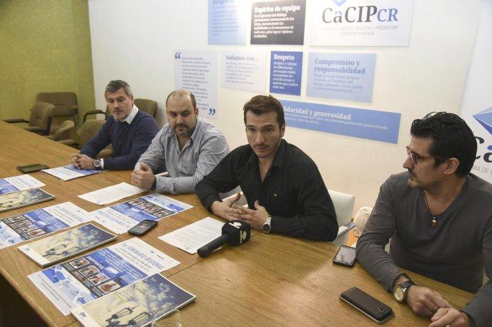 Autoridades de la Cámara de Comercio recordaron que la capacitación se realizará mañana en el Centro Cultural