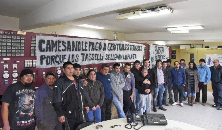 Trabajadores de Centrales Térmicas Patagónicas exigen asistencia del Estado