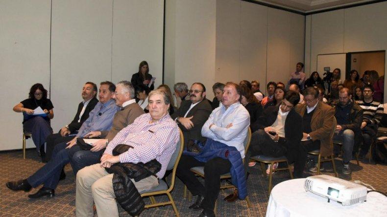 Gran convocatoria en la audiencia por el Parque Eólico que construirá YPF