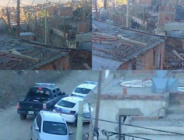 Allanaron la casa de Los Palomos: sospechan que balearon a un joven ayer
