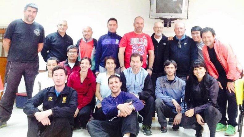Participaron 27 entrenadores de atletismo