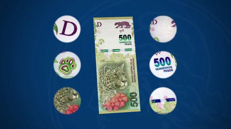 Desde hoy circula el nuevo billete de $500: ¿cuáles son las medidas de seguridad?