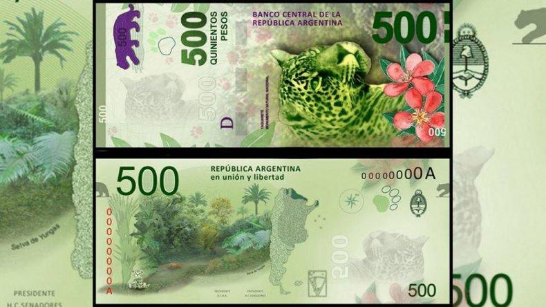 Cuándo llegarán los nuevos billetes de $500 a Comodoro