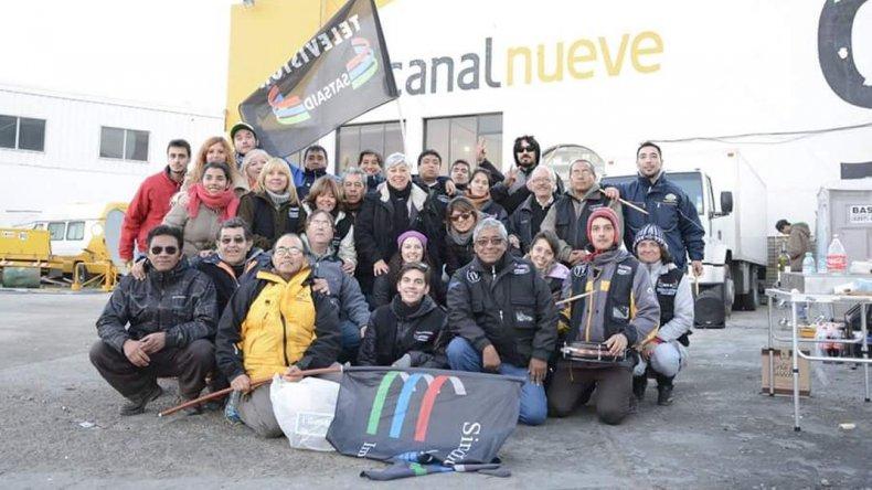 Trabajadores de Canal 9 realizarán una peña para formar un fondo solidario