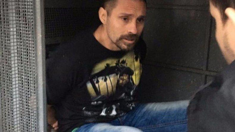 Pérez Corradi aceptó su extradición a la Argentina