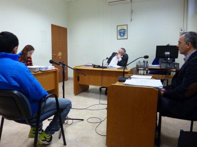 Víctor Hugo Alcaina declaró ayer