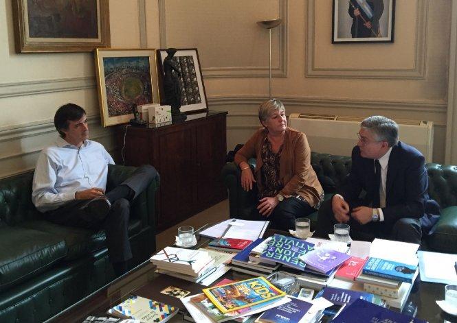 Pais y González gestionan fondos para  la Universidad de la Patagonia y la UTN