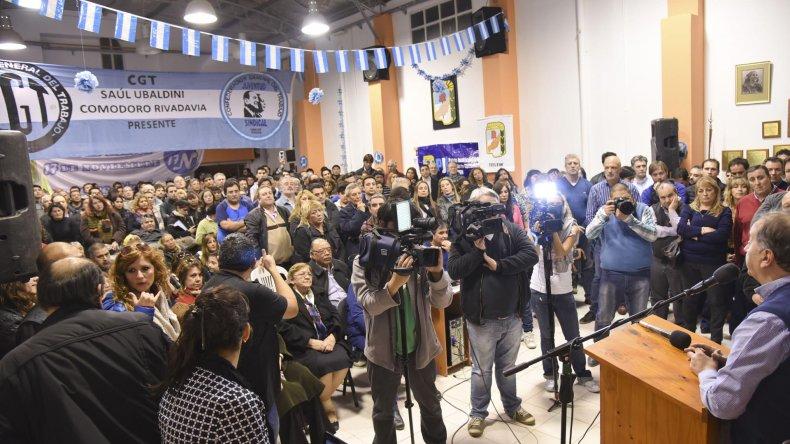 Acá se juntaron peronistas a hablar de peronismo