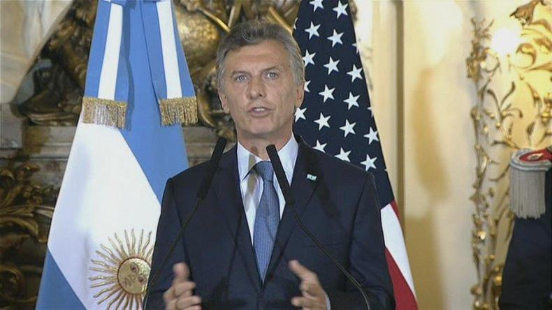 Macri inicia una intensa gira por Europa y EEUU