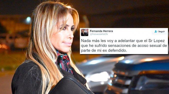 La abogada hot renunció a la defensa de José López por sensación de acoso sexual