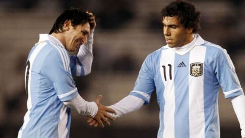 Tevez: A Messi hay que darle tiempo