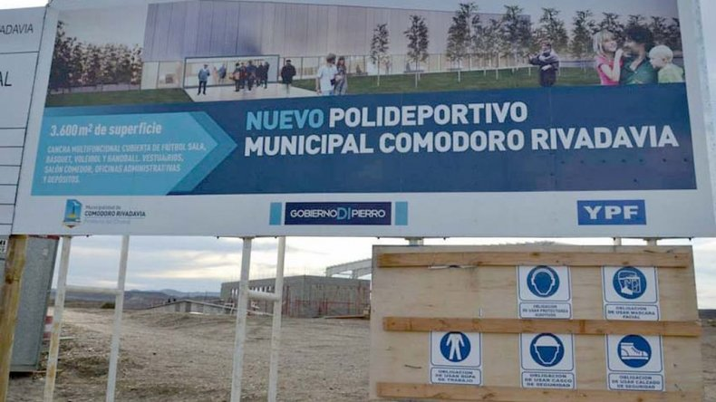 El Gimnasio Municipal Nº 4 se inauguraría en agosto