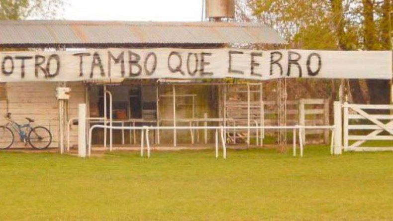 CARBAP denunció que la situación del sector lechero es crítica.