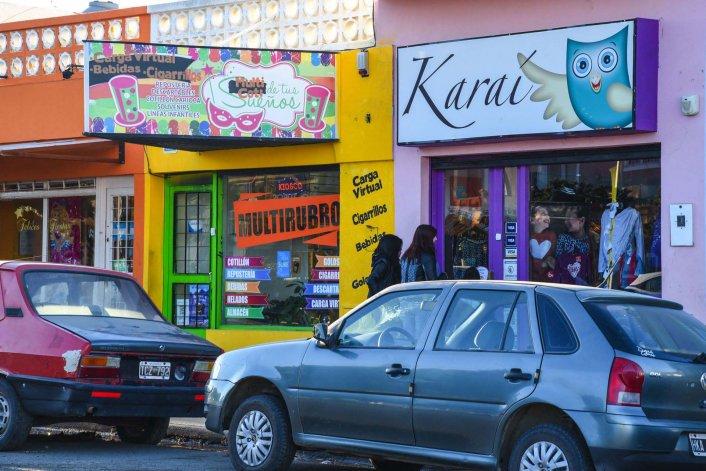 En el barrio Pueyrredón la avenida Polonia representa un sector comercial en crecimiento.