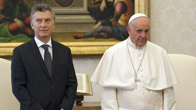 El papa Francisco dijo que no tiene ningún problema con Macri
