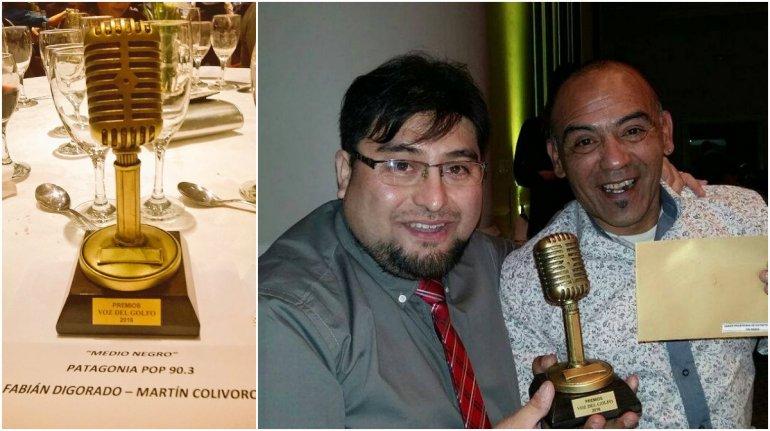Medio Negro se llevó el premio a Mejor Programa de Entretenimiento en radio