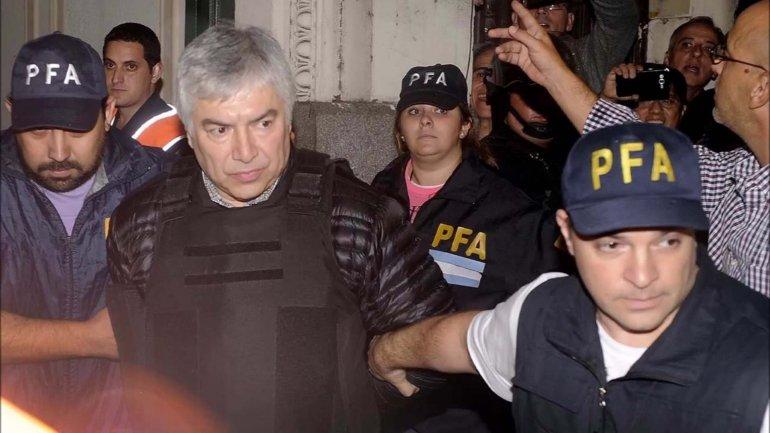 Lázaro Báez se encuentra detenido desde hace más de un mes en el penal de Ezeiza.