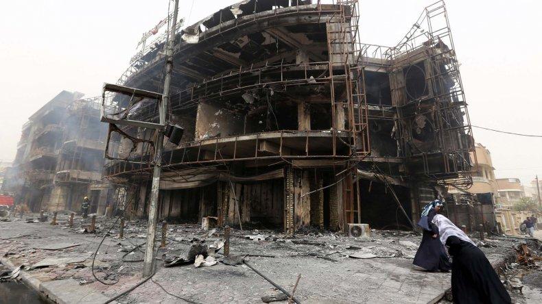 El centro comercial donde se registró el mayor número de víctimas.