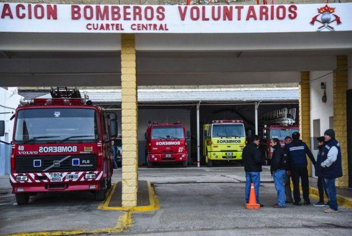 El 4 de julio de 1939 nació el primer cuerpo de bomberos de Comodoro Rivadavia