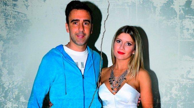 Laurita Fernández y Federico Hoppe, separados