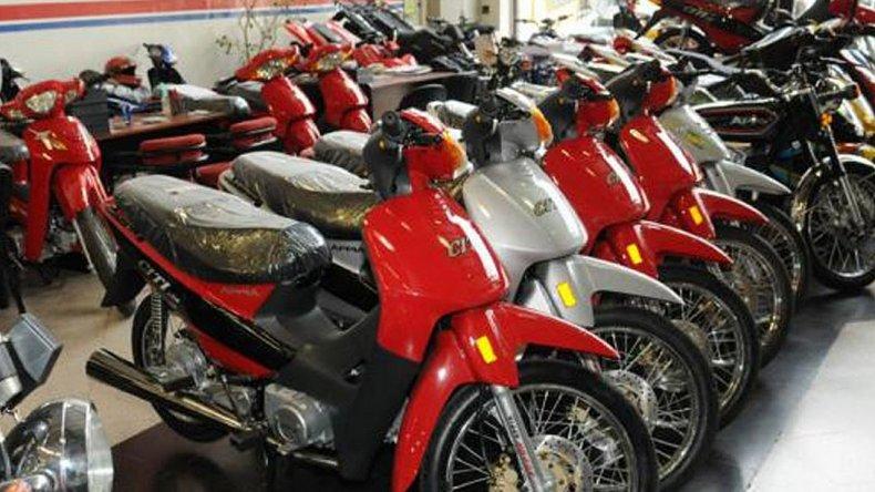 La venta de motos bajó un 23 % en junio