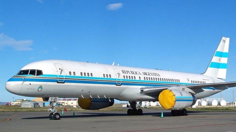 Venderán el Tango 01 y comprarán un nuevo avión presidencial