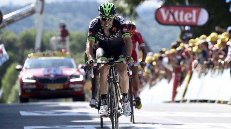 Eduardo Sepúlveda cumplió ayer la tercera etapa del exigente Tour de Francia.