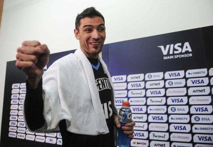 Carlos Delfino se mostró feliz por su vuelta a la selección argentina que se prepara para los Juegos Olímpicos.