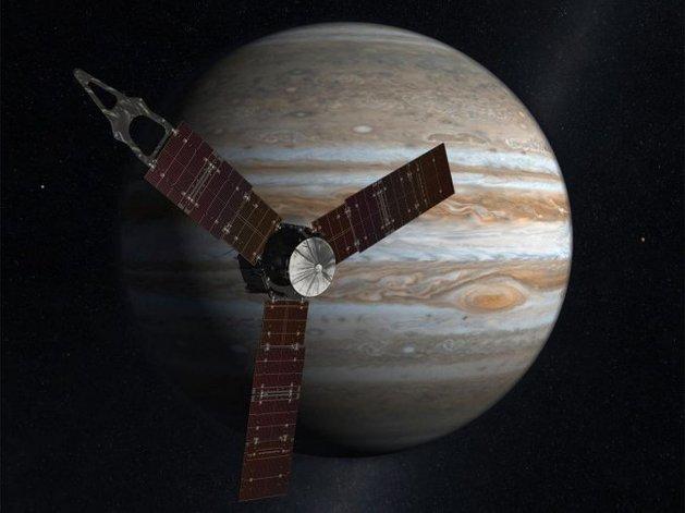 Luego de cinco años, la sonda Juno llegó a la órbita de Júpiter