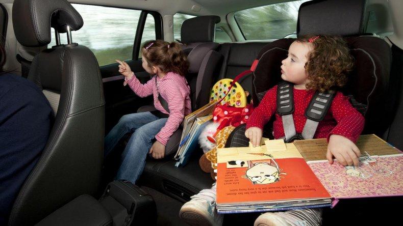 Juegos para entretener a los más chicos en un viaje largo