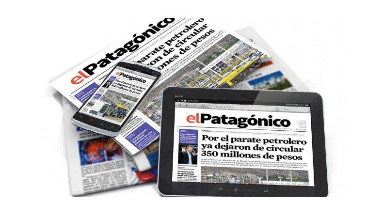 No te pierdas las noticias de El Patagónico en Facebook
