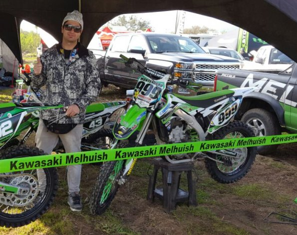 Jonathan Montenegro viene de competir en Chile
