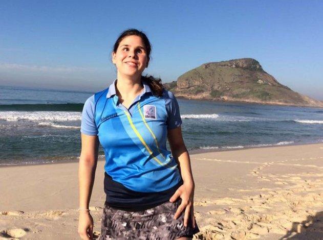 Florencia Romero lleva un largo tiempo defendiendo los colores celeste y blanco en diferentes competencias internacionales.