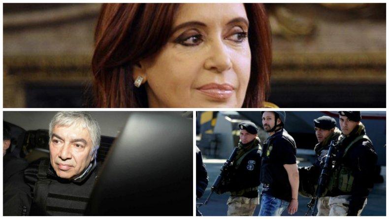 Cristina, Báez y Pérez Corradi se presentarán hoy en Comodoro Py