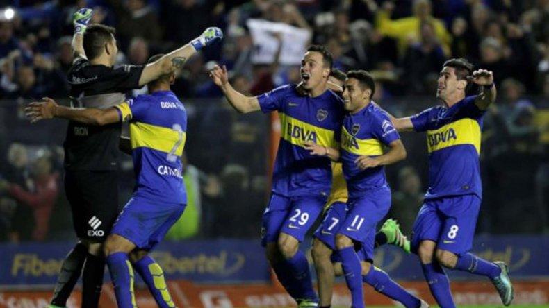 Boca viene de eliminar a Nacional de Montevideo
