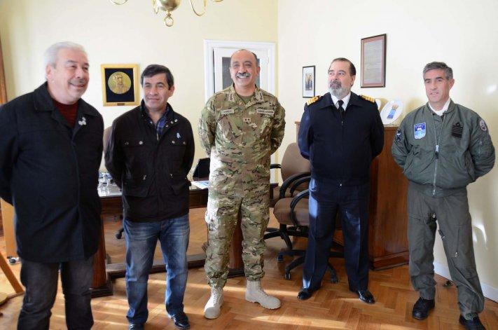 En el Comando de la IX Brigada Mecanizada se realizó la presentación oficial del cronograma de actos por el Bicentenario de la Independencia.